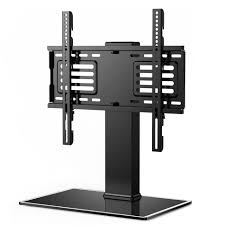 fitueyes universal table top tv stand for 32 to 65 inch tvs with