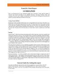 Report Essay Format Caribbean Civilisation Book Report Guidelines 2015 Essays