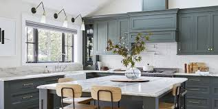 joanna gaines painted kitchen cabinets green emily henderson s portland project kitchen is total goals