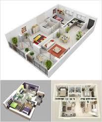 25 more 3 bedroom 3d floor plans 3 bedroom house floor plans and 3d