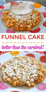 famous amish funnel cakes recipe cake recipes and key ingredient