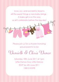 baby shower invitations girl baby shower invitations mes specialist
