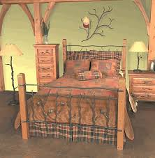 Twin Bed Frame And Headboard Rustic Headboards Twin Size Rustic Sassafras Bed Frame And