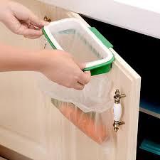 porte sac poubelle cuisine support sac poubelle ramassage portable suspend ordures déchet