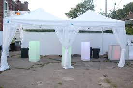 Lighted Music Gazebo by Party Tents