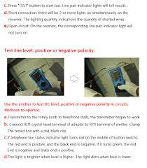 bside fwt11 rj45 rj11 wire line tracker finder blue and black