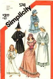 Halloween Costume Patterns 2354 Size Costumes Simplicity Women U0027s Historical Puritan