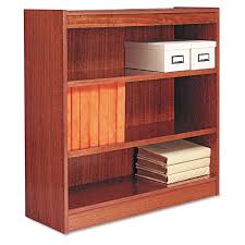 amazon com alera bcs33636my square corner wood veneer bookcase