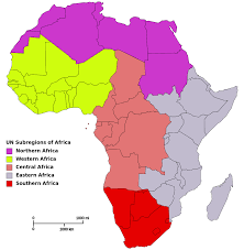 World Map Of Africa by Image Result For Map Of North West Central East And Southern