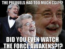 Exhibit Memes - prequel haters don t exhibit much logic imgflip