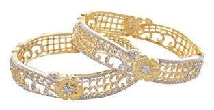 diamond studd my dt lifestyle american diamond studd gold metal bangle ajb13 at
