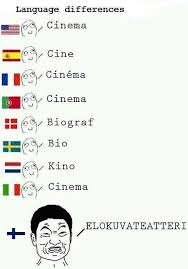 Language Differences Meme - finnish language differences compared to other languages 1 suomi