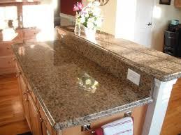 granite countertop kitchen backsplash ideas with cream cabinets