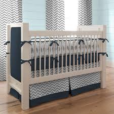 blankets u0026 swaddlings navy blue stripe crib bumper with navy