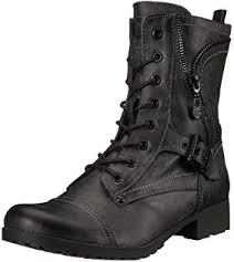 womens combat boots uk amazon com steve madden s troopa 2 0 combat boot ankle