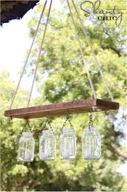 How To Mason Jar Chandelier To Light Up Your Home With Mason Jars