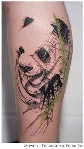 mowgli artist panda tattoo panda lovers paradise free shipping