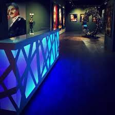 Zig Zag Reception Desk Mdd Office Furniture Project Lighted Reception Desks
