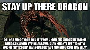 Funny Dark Souls Memes - dark souls dragon memes quickmeme