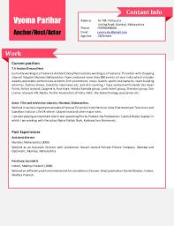 vyoma parihar updated resume ready download restaurant hostess resume for free tidyform