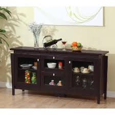 Buffet Table For Dining Room Amazon Com Iohomes Cedric Modern Buffet Espresso Buffets