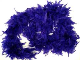 mardi gras feather boas purple feather boa mardi gras style feather boa 2030 4 00