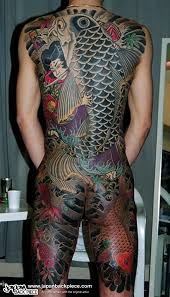 Back Pieces Tattoos Koi Japanbackpiece Com