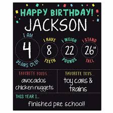birthday chalkboard my birthday chalkboard