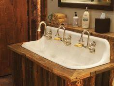 Period Bathroom Fixtures Our Salvaged Antique Cast Iron Sink Project Sinks Iron And Gardens