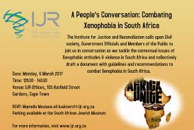 invitation a people u0027s conversation u2013 combating xenophobia in sa u2013 ijr