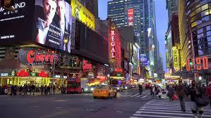 Videos On Thanksgiving New York City Ny November 24 Lights At Night Of Buildings On