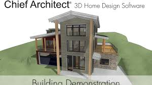 chief architect x9 building demonstration youtube