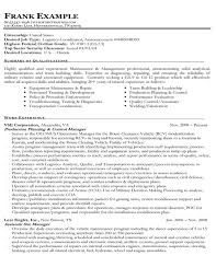 Sample Resume For A Career Change by Example Of A Federal Government Resume Military Spouse And Frg
