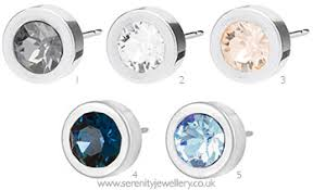 hypoallergenic earrings uk hypoallergenic blomdahl silver titanium grand bezel earrings
