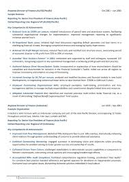 Best Resume Template Australia by Senior Management Resume Example