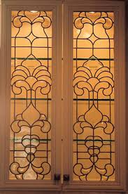 residential stained glass fused glass beveled glass windows and cabinet corrado elmhurst kitchen cabinets fine cabinetry glass