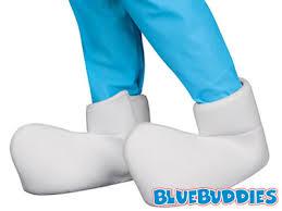 Smurfette Halloween Costume Smurf Halloween Costumes Smurf Shoe Covers Smurf Hat Smurf Mittens