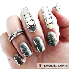 nails of steel nail art blog steel and steampunk nails