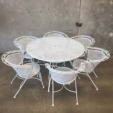 Vintage Woodard Wrought Iron Patio Furniture - vintage russell woodard patio set u2013 urbanamericana