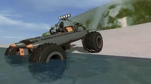 amphibious truck rocket powered amphibious monster truck homebrew vehicle