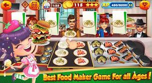 jeux de cuisine burger restaurant télécharger jeux de cuisine pour filles burger chef restaurant apk