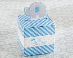 elephant favors peanut elephant favor box set of 24 blue kate aspen