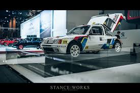 peugeot 205 group b aesthetics an essen encounter u2013 the peugeot 205 t16 stanceworks com