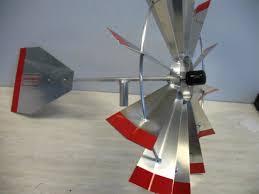 8 ft premium aluminum decorative garden windmill