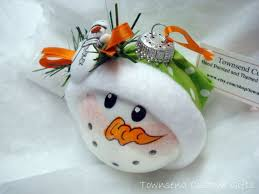 197 best snowmen ornaments images on ideas