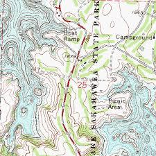 lake sakakawea map lake sakakawea state park nd