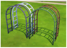 wedding arches sims 3 metal garden arch by menaceman44 at mod the sims sims 4 updates