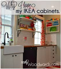 Ikea Kitchen White Cabinets Why I Love My Ikea Kitchen Cabinets Newlywoodwards