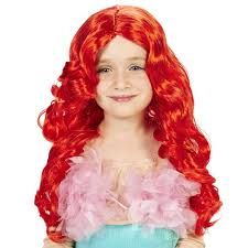 red mermaid child wig buycostumes com