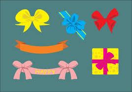 birthday ribbons birthday ribbon free vector 3708 free downloads